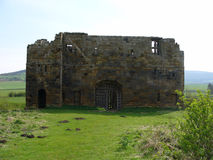 Castle Keep. English Castle Keep stock photography
