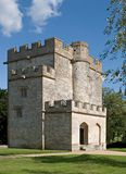 Castle keep. Keep of a medieval castle, Newton-St-Loe, England Royalty Free Stock Images