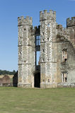 Castle Keep, Cowdray Castle Ruins, West Sussex, England Royalty Free Stock Photography