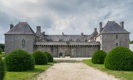 Castle Kergroadez Royalty Free Stock Images