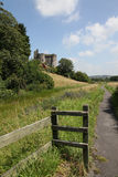 The Castle at Kidwelly Stock Image