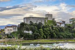 Castle of the King, built in the Early Middle Ages, Cantabria, N Royalty Free Stock Image