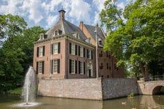 Castle Kinkelenburg in the historic centre of Bemmel Royalty Free Stock Photo