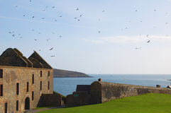 Castle Kinsale Royalty Free Stock Photo