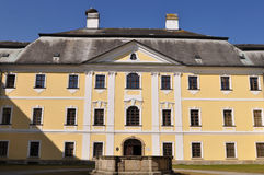 Castle of Kinsky in Zdar nad Sazavou,Czech, Stock Photos