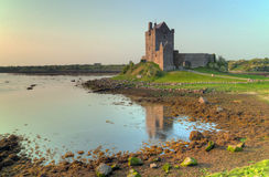 Castle in Kinvara in Ireland Royalty Free Stock Photos