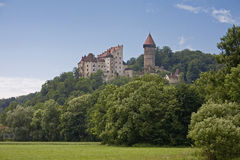 Castle Klam royalty free stock photos