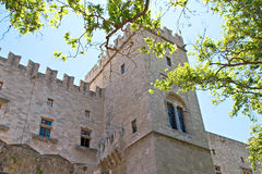 Castle of the Knights at Rhodes Royalty Free Stock Photography