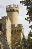 Castle of the Knights at Rhodes Greece Stock Photography