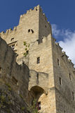 Castle of the Knights at Rhodes Greece Royalty Free Stock Images