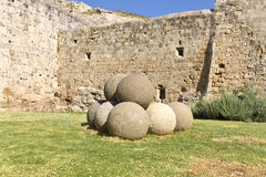 Castle of the Knights at Rhodes, Greece Royalty Free Stock Photos