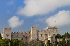Castle of the Knights at Rhodes island, Greece Stock Photo
