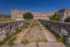 The Castle of the Knights of St. John the baptist, Kos island, Greece. Stock Photo