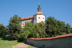 Castle in Škofja Loka Stock Images