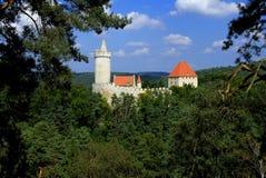 Castle Kokorin. Old castle Kokorin in Czech Republic Royalty Free Stock Images