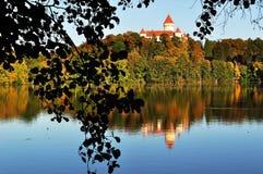 Castle Konopishte. Czech republic Stock Photo