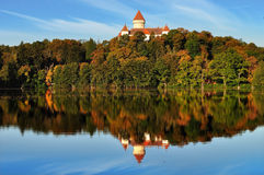 Castle Konopishte. Czech republic Royalty Free Stock Images