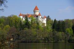 Castle Konopiste. Old castle Konopiste in Czech Republic Stock Photography