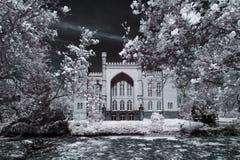 Castle in Kornik Royalty Free Stock Photos