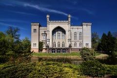 Castle in Kornik (Kórnik) Stock Image