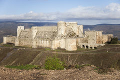 Castle Krak des Chevaliers Stock Images