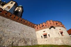 The castle in Krakow Wawel Royalty Free Stock Image