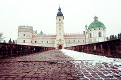 Castle in Krasiczyn Stock Photo