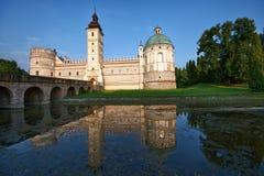 Castle in Krasiczyn Stock Photos