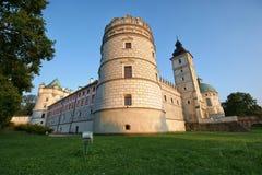 Castle in Krasiczyn Stock Images