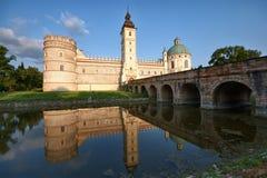 Castle in Krasiczyn Royalty Free Stock Photos
