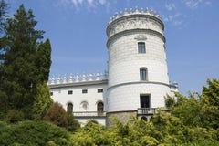 Castle in Krasiczyn Stock Photo