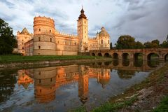 Castle in Krasiczyn Royalty Free Stock Photography