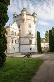 Castle Krasiczyn Stock Photography