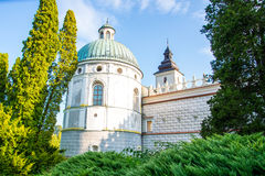 Castle Krasiczyn royalty free stock image
