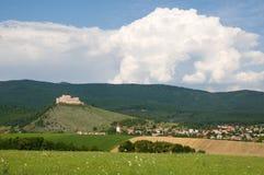 Castle Krasna Horka Royalty Free Stock Photos