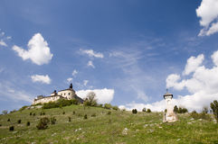 Castle of Krasna Horka, Slovakia Royalty Free Stock Photos