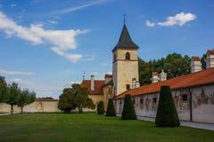 Castle Kratochvile, Czech Republic. Castle Kratochvile, South Bohemian region. Czech Republic royalty free stock photo