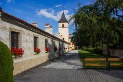 Castle Kratochvile, Czech Republic. Castle Kratochvile, South Bohemian region. Czech Republic royalty free stock image