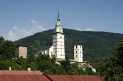 Castle in Kremnica, Slovakia Stock Photos