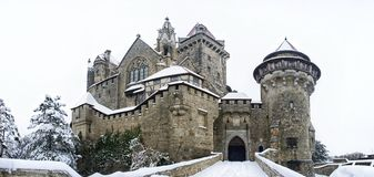 Castle Kreuzenstein in Lower Austria Stock Photography