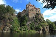 Castle Kriebstein Royalty Free Stock Photo