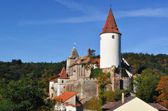 Castle Krivoklat. Czech republic Royalty Free Stock Photos