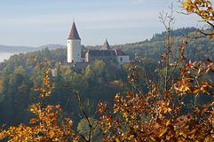 Castle Krivoklat, Czech republic Stock Photo