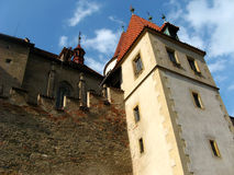 Castle Krivoklat, Czech republic Royalty Free Stock Photos