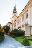 Castle in Kromeriz, Czech Republic. UNESCO Royalty Free Stock Photo