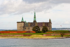 The Castle Kronborg Royalty Free Stock Images