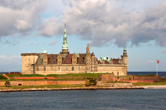 The Castle Kronborg. Denmark Stock Image