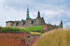 Castle Kronborg in Elsinore Royalty Free Stock Image