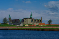 Castle of Kronborg, home of Shakespeare's Hamlet Royalty Free Stock Photography