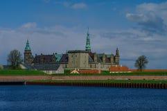 Castle of Kronborg, home of Shakespeare's Hamlet. Denmark Royalty Free Stock Photography